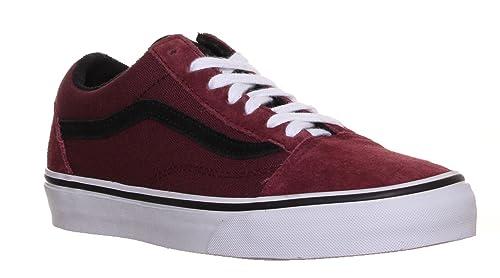 scarpe vans bordeaux