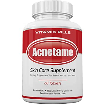 Amazon Com Acnetame Vitamin Supplements For Acne Treatment 60