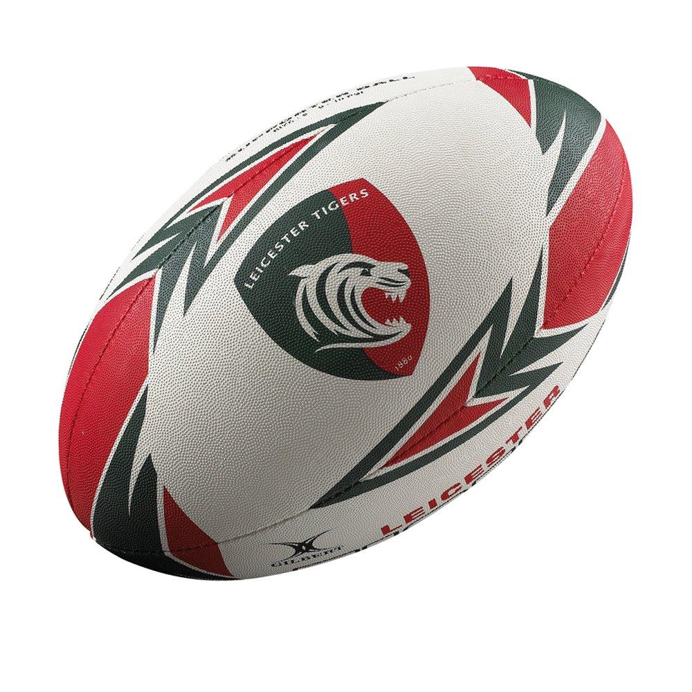 GILBERT-Balón de Rugby de Leicester Tigers Pelota de rugby [tamaño ...