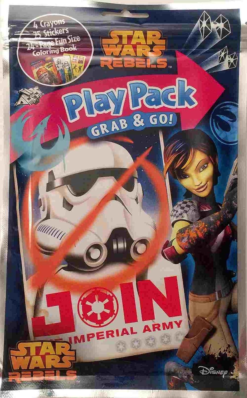 STAR WARS Star Wars Play Pack Grab /& Go Coloring Book LUCASFILM
