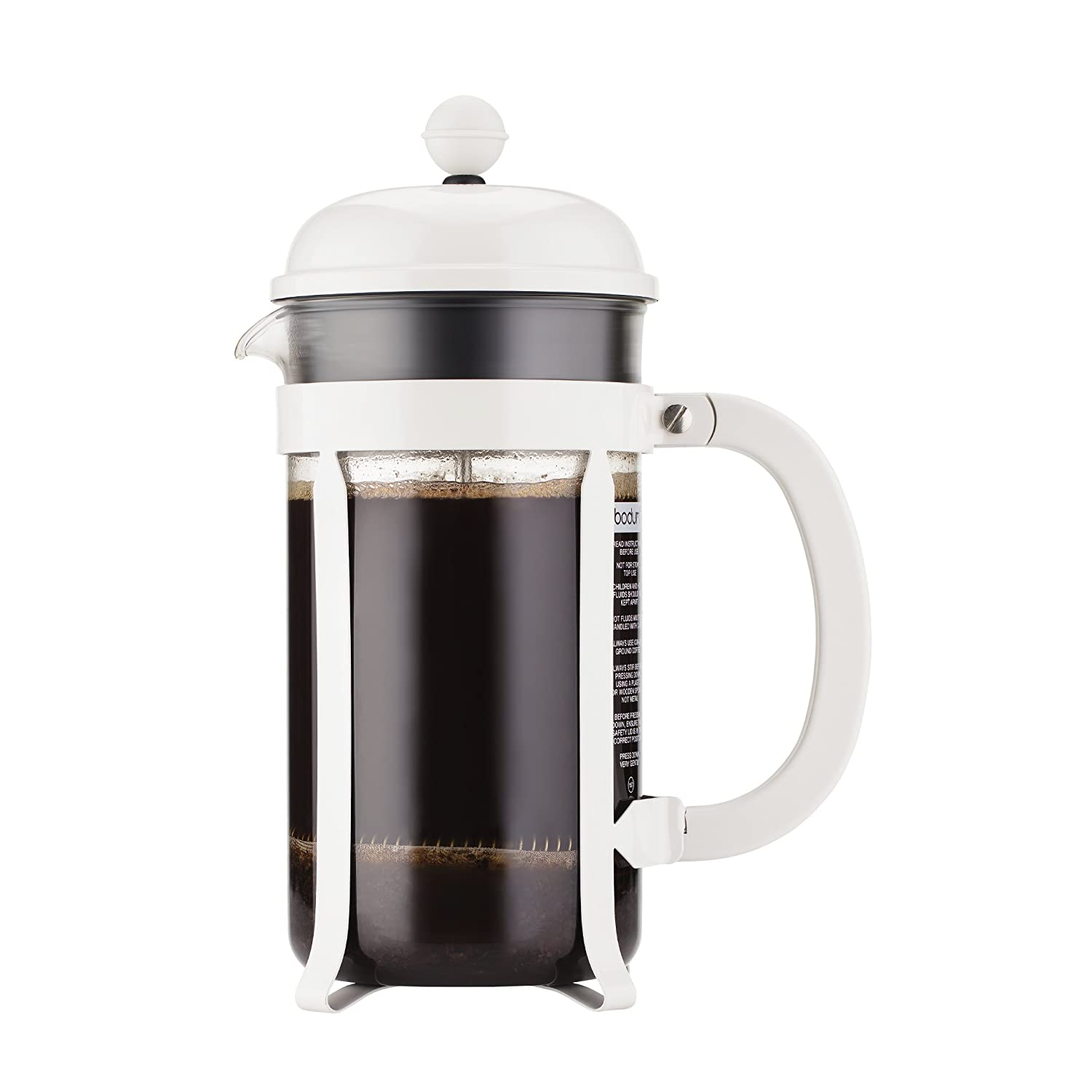 BODUM Chambord French Press, 34 oz. , White
