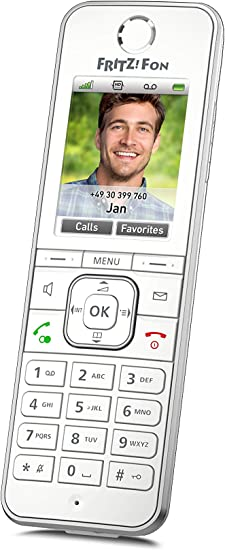 Avm Fritz Fon C6 Dect Komforttelefon Internationale Elektronik