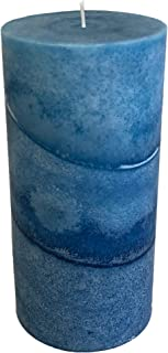product image for Wicks N More Caribbean Blue Scented Candles (3x6)