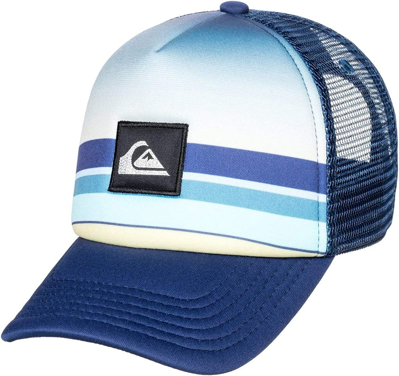 Quiksilver - Gorra Trucker - Niños 2-7 - One Size - Azul ...