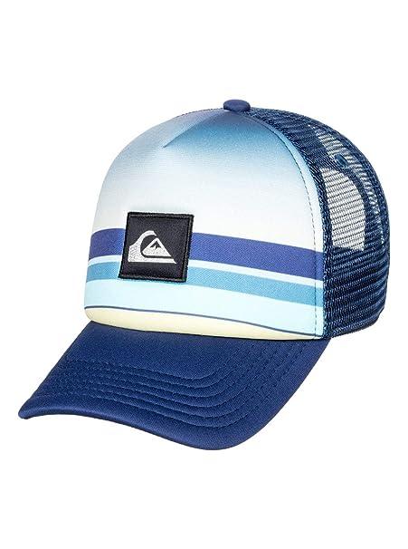 Quiksilver - Gorra Trucker - Niños 2-7 - One Size - Azul