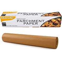 SMARTAKE Parchment Paper, 13 in × 164 ft (177 Sq. Ft) Non-Stick Baking Parchment Roll, Baking Pan Liner for Kitchen, Air…