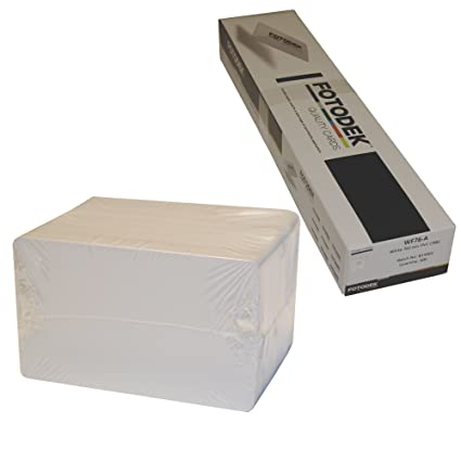 500 x tarjetas de PVC en blanco - Premium Fotodek: Amazon.es ...