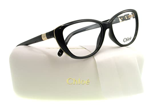 acdc5c685bc Chloe Eyeglasses CE 2601 BLACK 001 CE2601  Amazon.co.uk  Clothing