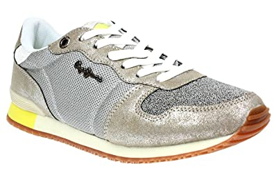 Pepe Jeans Damen Gable Caviar Sneakers