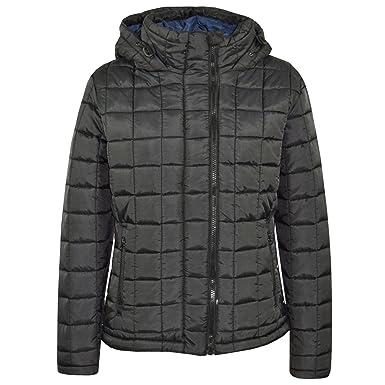 30cbb169c Boys Jacket Kids Designer Black Foam Padded Puffa School Warm Thick Jackets  Coat