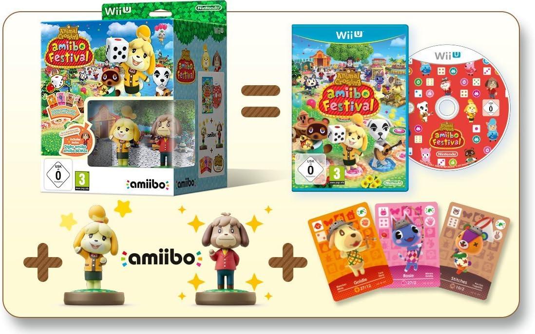Animal Crossing: Amiibo Festival (Incluye 2 Figuras Amiibo + 3 Tarjetas Amiibo): Amazon.es: Videojuegos