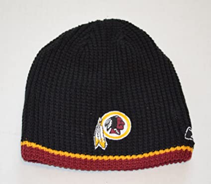 7e1736b26 YOUTH Washington Redskins Reebok Reversible Skull Cap - NFL Cuffless Beanie  Kids Winter Knit Toque Cap