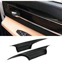 For BMW 7 Series Door Pull Handle Covers,Jaronx Left Front and Right Front Door Handle Carrier Trim Cover Kit (Fits:BMW…