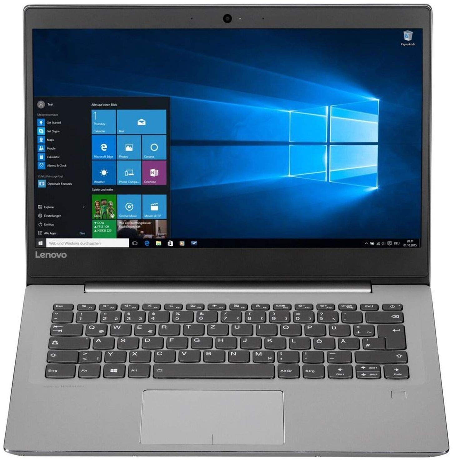Lenovo IdeaPad 520s de 14ikb (81bl005usp) 81bl Core i5 - 8250u 1.6 GHz, 8 GB de RAM, 256 GB SSD, Windows 10 Home, Mineral Gray, Spanish Keypad & Software: ...
