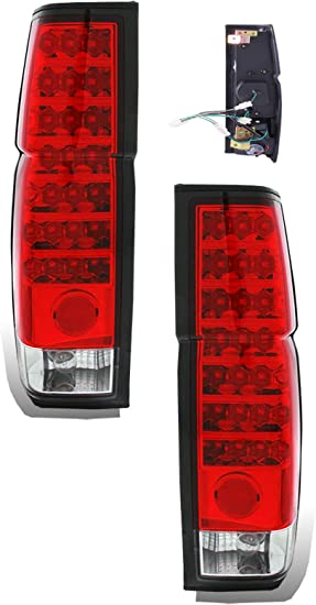 Complete Head Tail Light Lens for Cherokee XJ Hard Body replacement parts