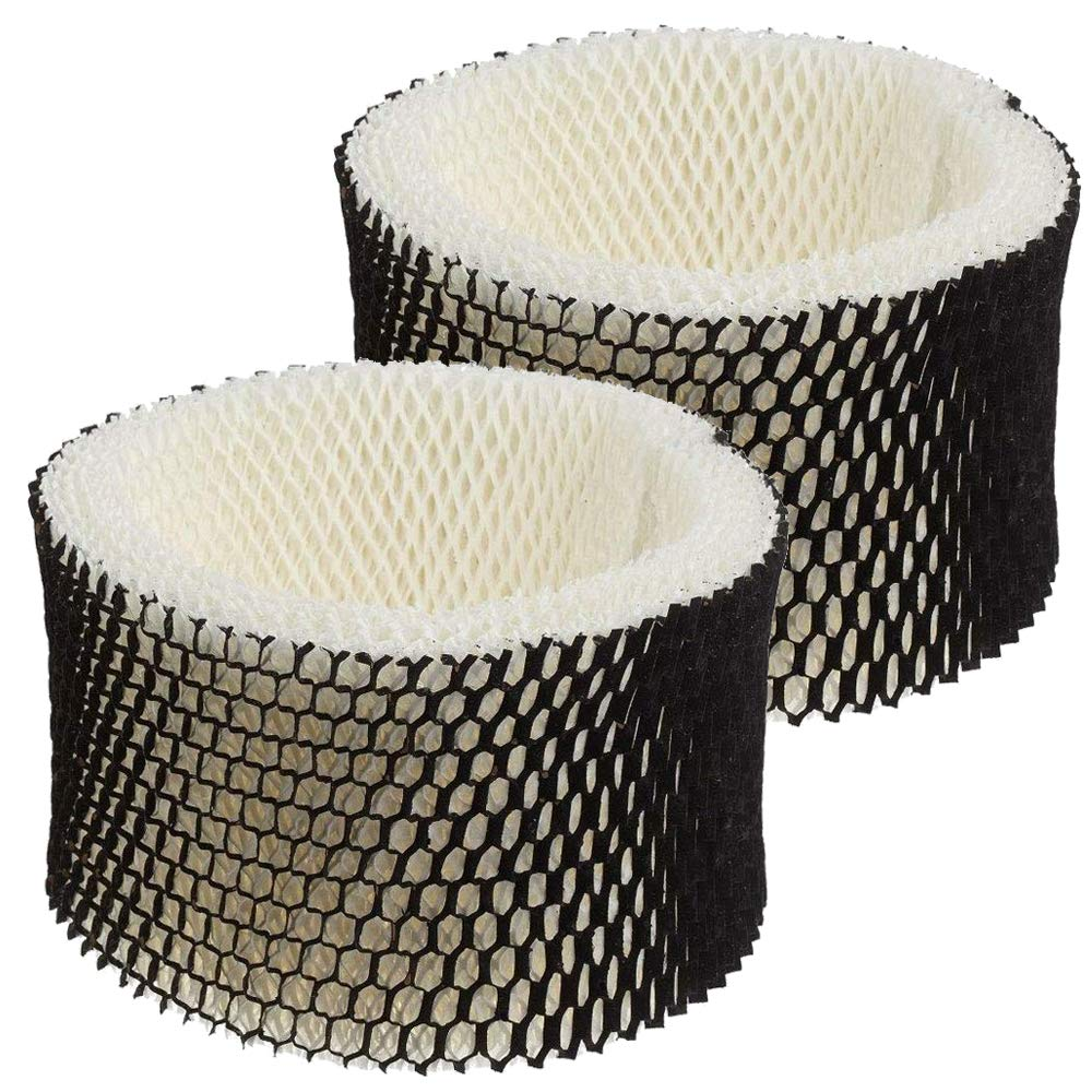 BBT BAMBOOST Humidifier Filter A Replacement Fit for Holmes Sunbeam Honeywell Humidifiers Wick Filter,Replacement Parts HWF62 HWF62CS HWF62D - Pack of 2 by BBT BAMBOOST