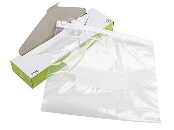 Bolsa de vacío con cierre de cremallera para congelador o ...