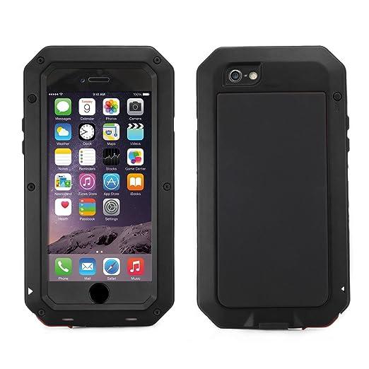 75 opinioni per Alienwork Custodia per iPhone 6/6s adatto per impronte Cover Case Bumper