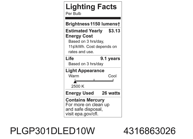 Amazon.com: GE Lighting 63026 Smart LED 10-watt de energía ...
