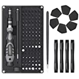 Jakemy 116 in 1 Precision Screwdriver Set, with 96 Bits Professional Magnetic Repair Tool Kit with Handy Case for Laptop…