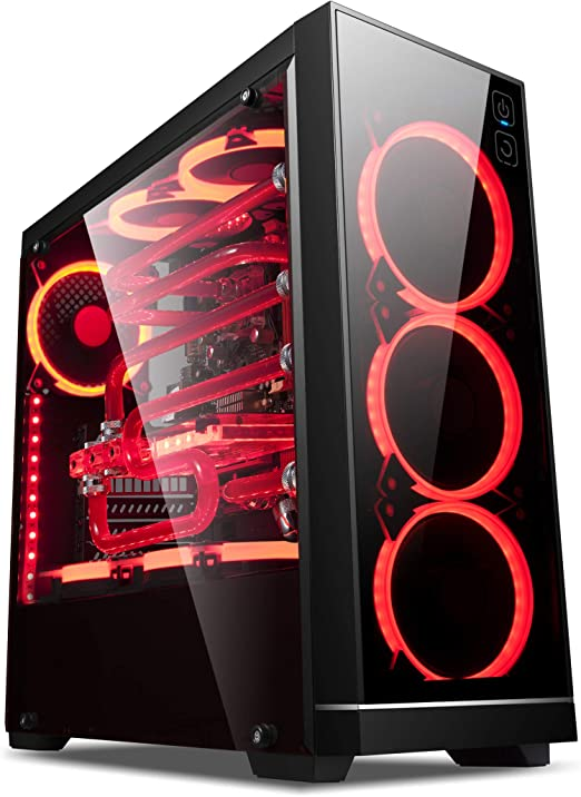 UNYKAch - Caja Gaming ATX Exagon EVO RGB Cristal Templado Tactil USB 3.0 y 2.0: Amazon.es: Software