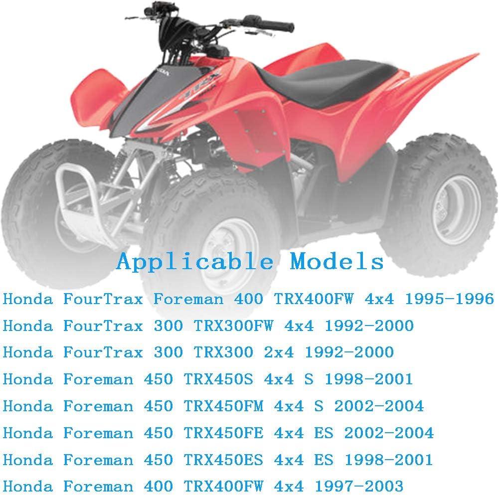 WFLNHB Spark Plug /& Oil Filter for Honda 350X 250SX Big Red 250ES Foreman TRX 300