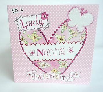 Lovely Nanna Birthday Card Amazoncouk Electronics