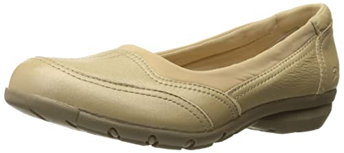 Skechers Women's Career Coo Wedge Pump, Gold Leather, ...