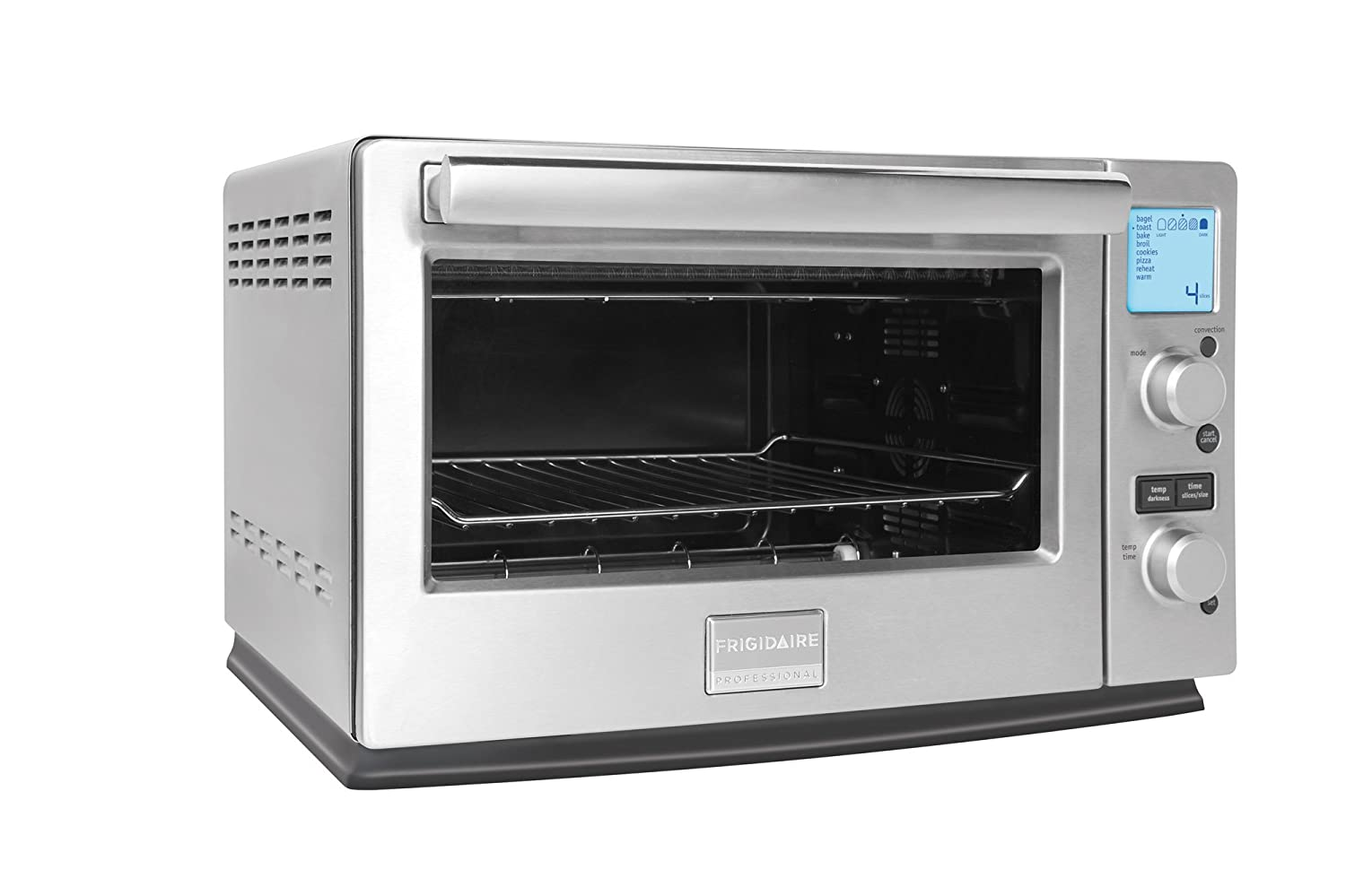 amazoncom frigidaire stainless 6slice infared convection toaster oven kitchen u0026 dining