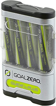 side facing goal zero guide 10 solar power bank