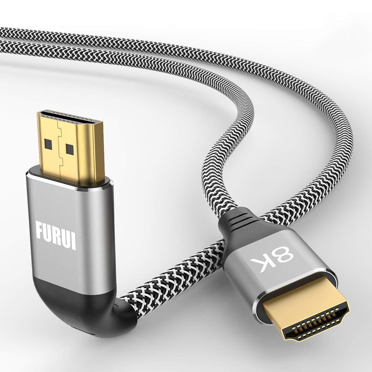 Cable HDMI 2.1 8k Trenzado 3mt HDCP 2.3 FURUI