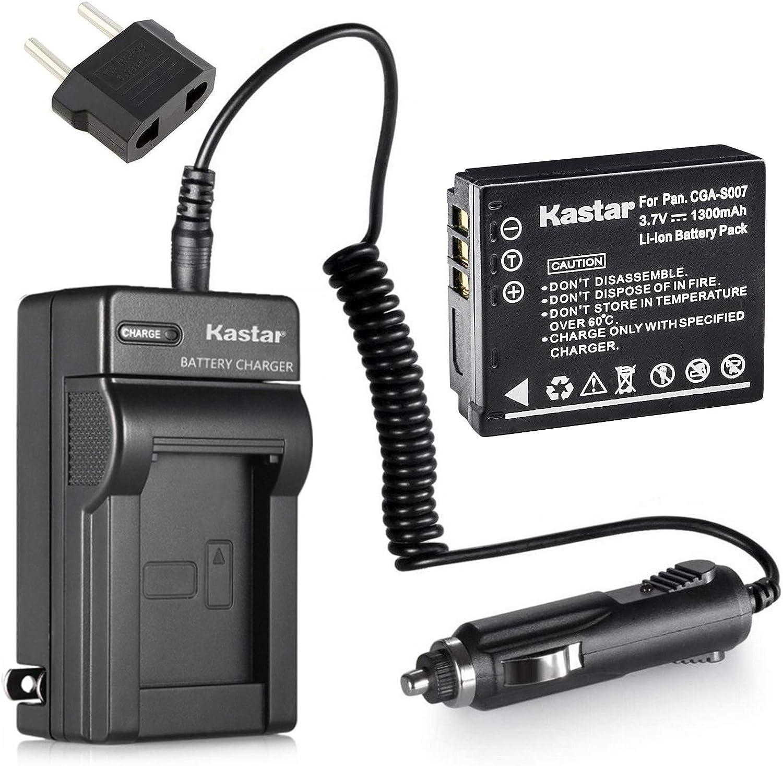 Battery Charger For Panasonic CGA-S008A S008E BCE10E DMW-BCE10 VW-VBJ10 VBJ10E/_X