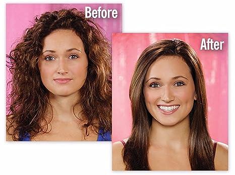 Cepillo alisador de pelo para planchas eléctricas de cerámica de calentamiento rápido, peine digital, LCD, masajeador de cuidado del cabello, color rosa, ...