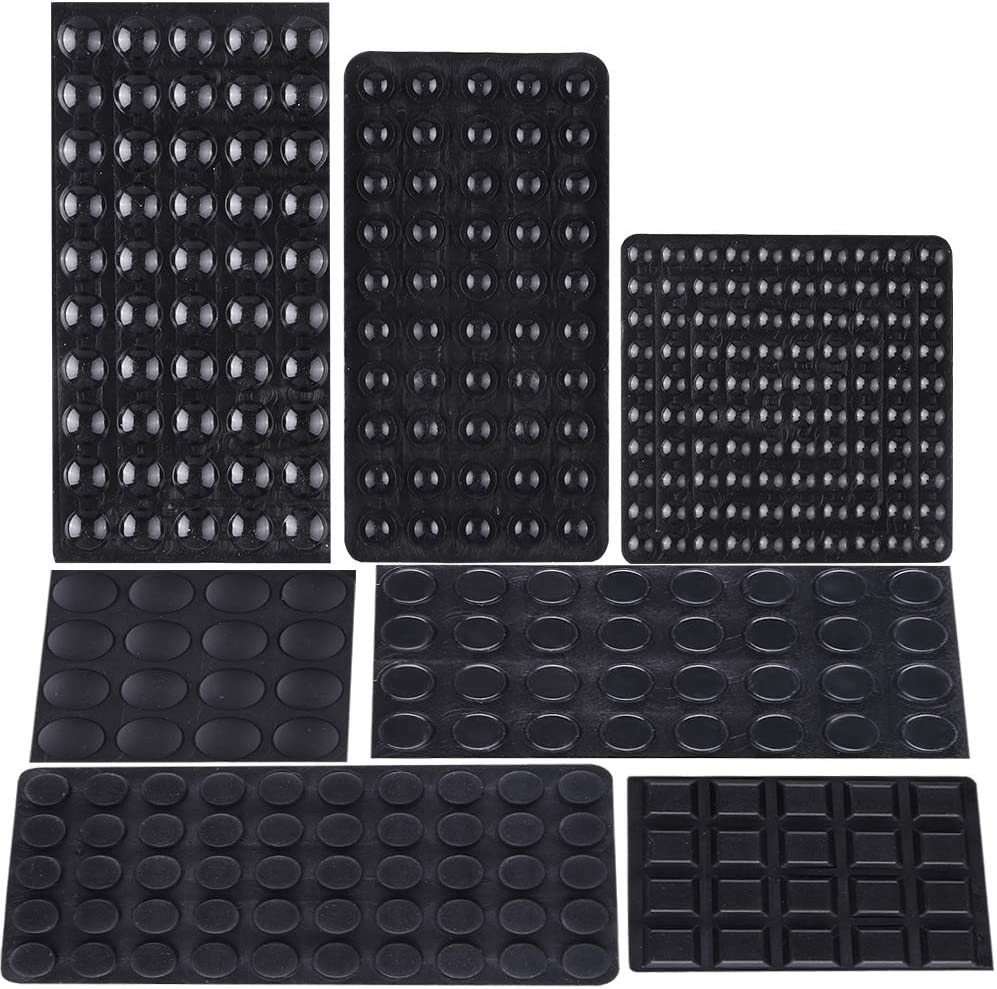 AUSTOR 318 Pieces Black Rubber Feet Bumper Pads