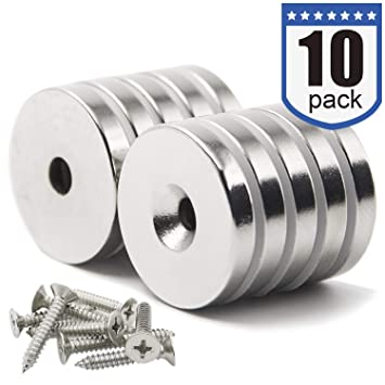 DIYMAG Powerful Neodymium Disc Magnets Strong Rare Earth Magnets. Permanent