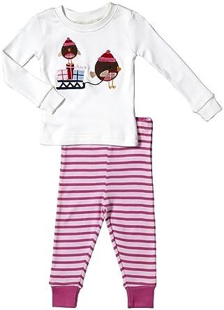 a2c839a69b144 Amazon.com  JoJo Maman Bebe Girls  Jersey Long Pyjamas