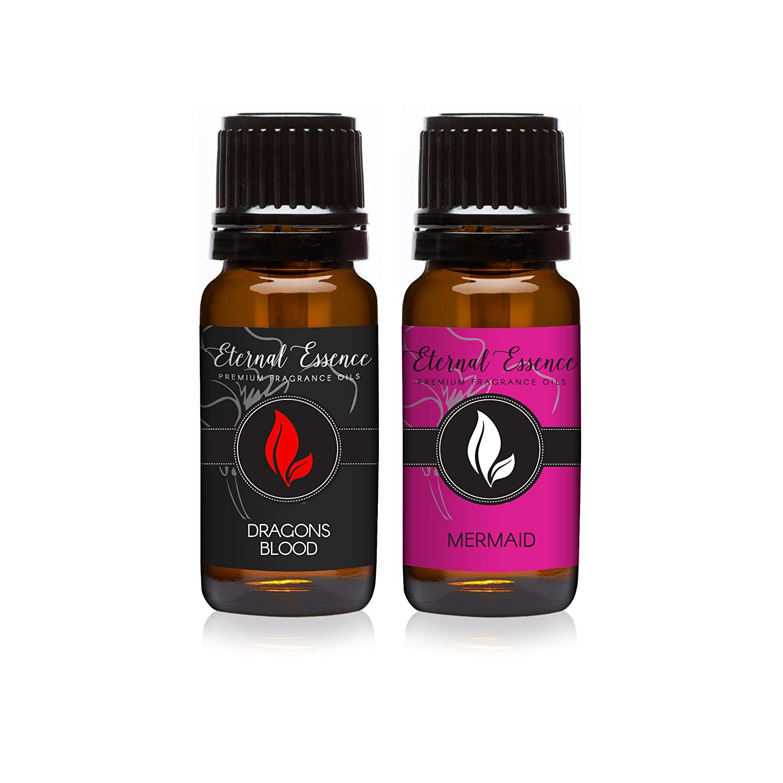 Pair (2) - Dragons Blood & Mermaid - Premium Fragrance Oil Pair - 10ml