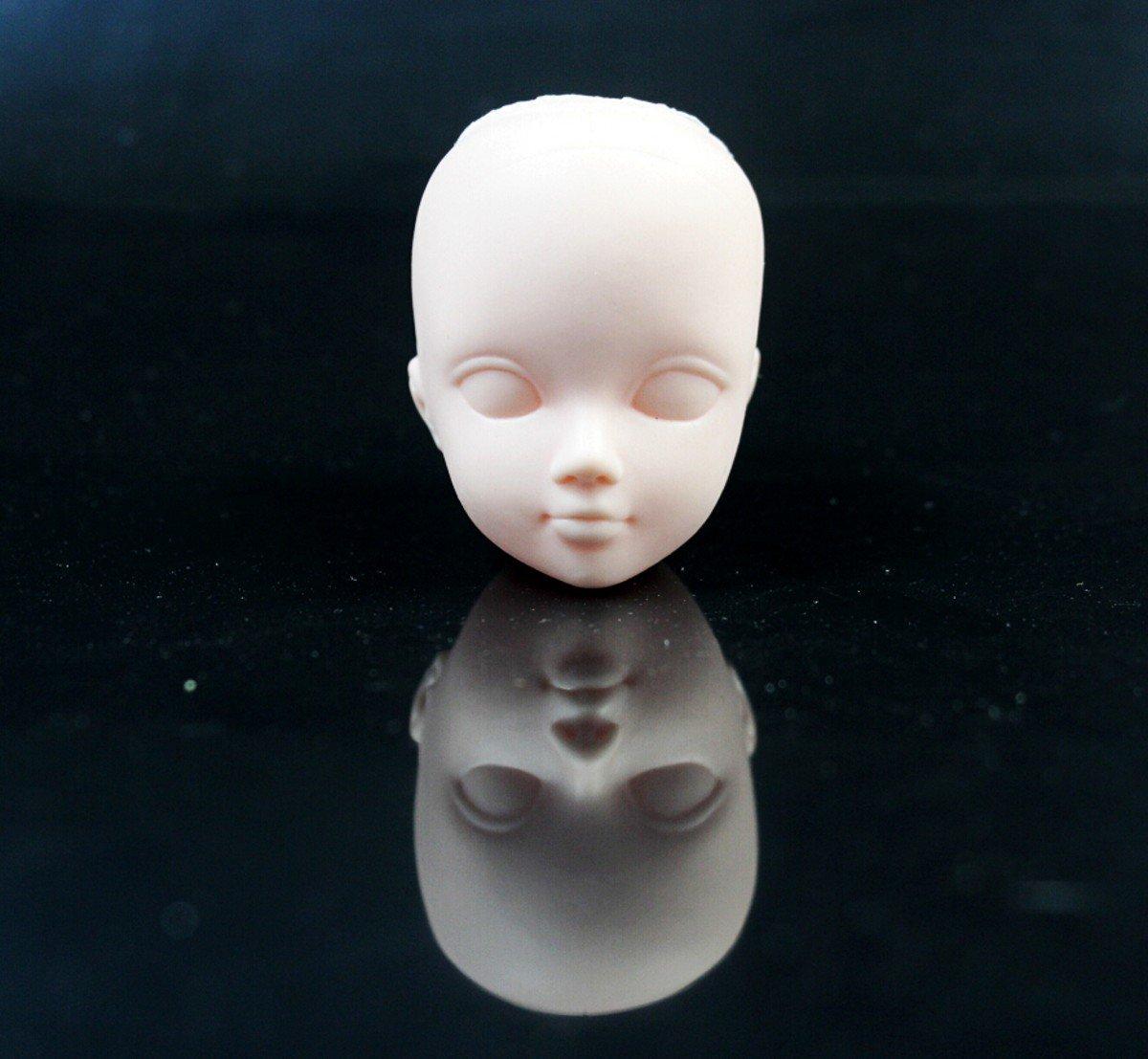 chengyida 3/Mini Kosmetologie Mannequin K/öpfe Praxis Make-up 1//6/BJD Dollfie weiblich Puppe Figur Option Head Puppe Kopf Teile Reparatur
