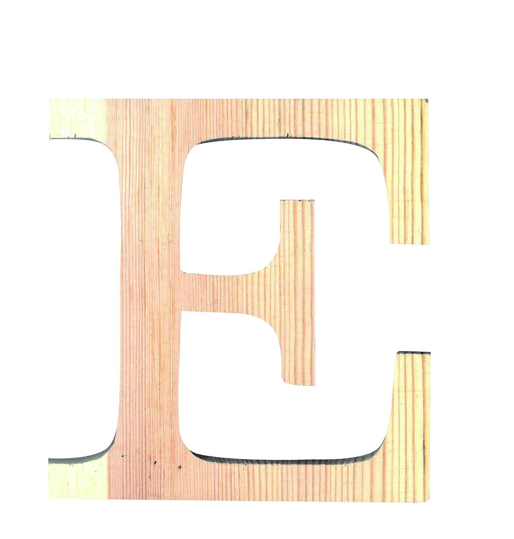 colore Artemio-Sagoma in legno da 19 cm con lettera L in lettere maiuscole beige