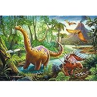 Trefl Çocuk Puzzle Dinosaur Migration 60 Parça