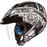 Studds Marshall Helmet D4 Black N4 (L)