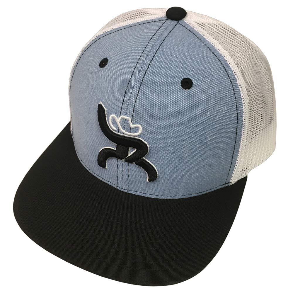 HOOey Maverick Roughy Blue/White Youth Hat