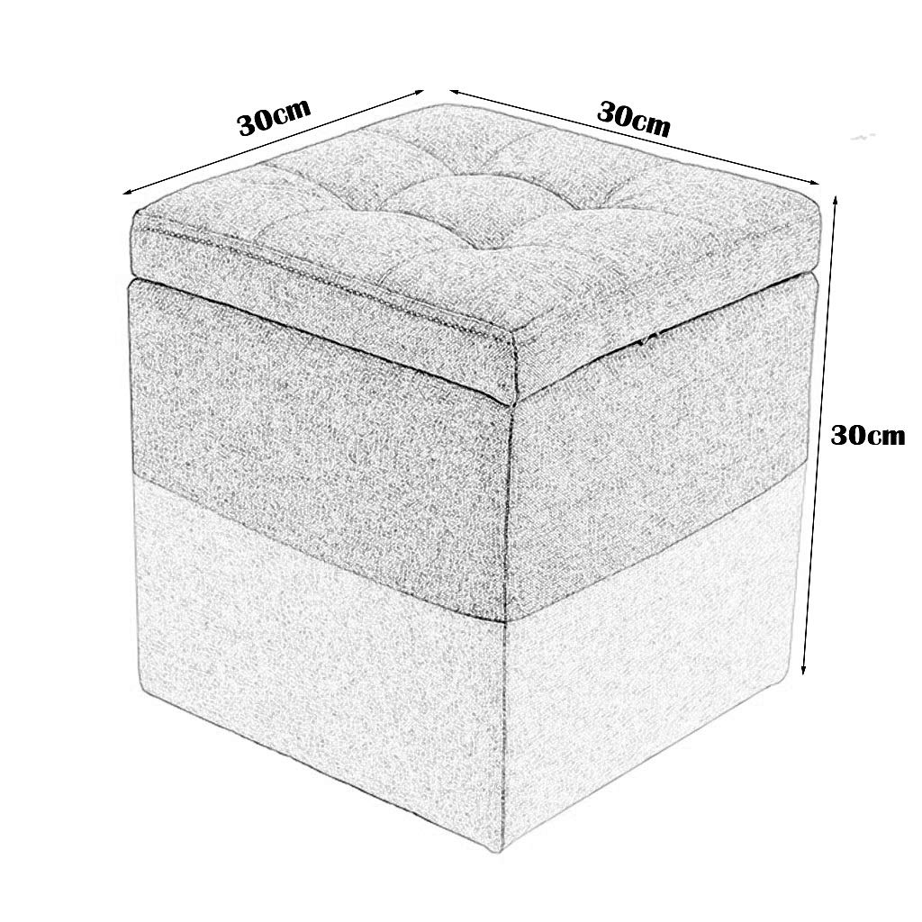 Reposapieacute;s Sofaacute; Taburete de almacenaje de de de costura puacute;rpura Taburete de taburete praacute;ctico de madera Reposapieacute;s tapizado para sala de estar Dormitorio de esponja altamente elaacute;stica que llena el asiento 555745