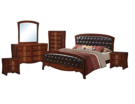 Amazon.com: Picket House Furnishings Jansen 6 Piece Queen Bedroom ...