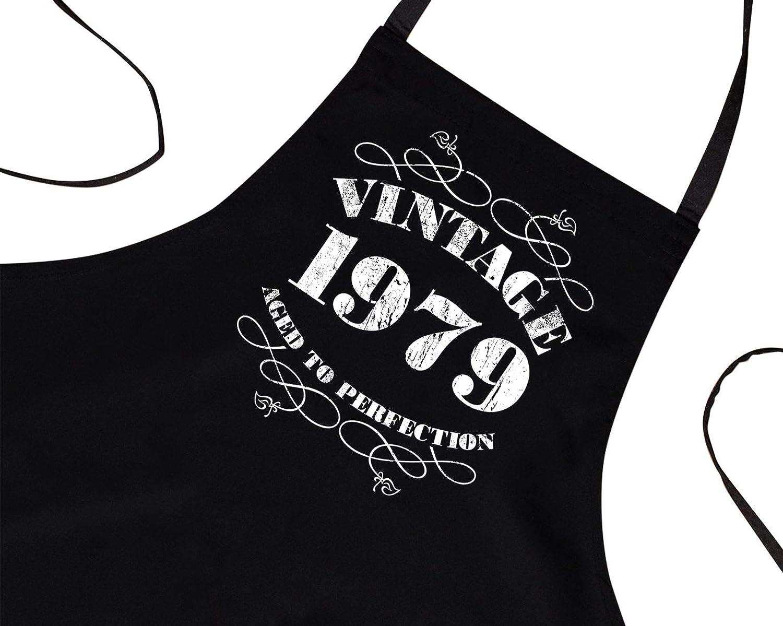 cadeau pour un 40/ème anniversaire Tablier vintage 1979 pour homme de Bang Tidy Clothing