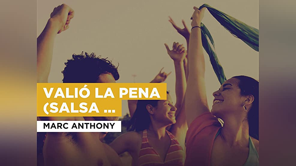 Valió la pena (Salsa version) in the Style of Marc Anthony