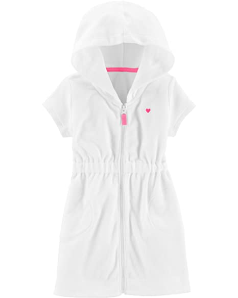acacaaa9e3 Amazon.com: Carter's Baby Girls Terry Swim Cover Up: Clothing