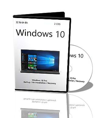Windows 10 Professional 32 bit & 64 bit Reinstallation