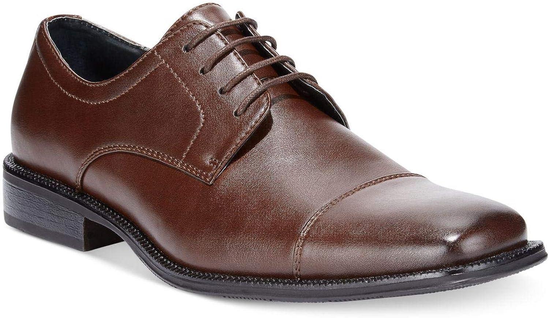 Size 12.0 Alfani Mens Adam Lace Up Dress Oxfords Brown