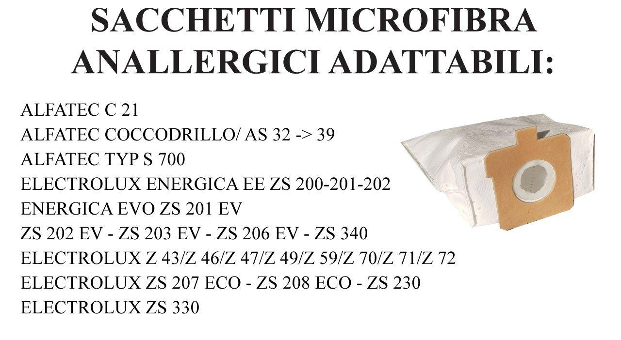 20 Staubsaugerbeutel für Electrolux Coccodrillo Z 72